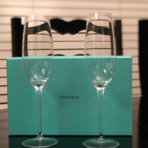 fa8a9f6e21b4 Tiffany   Co. Champagne Flutes. M 5b3d982fc2e9fede92b7b675. Other  Accessories ...